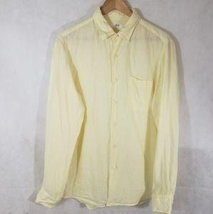 Uniqlo 100%Linen Women's Button Down Shirt